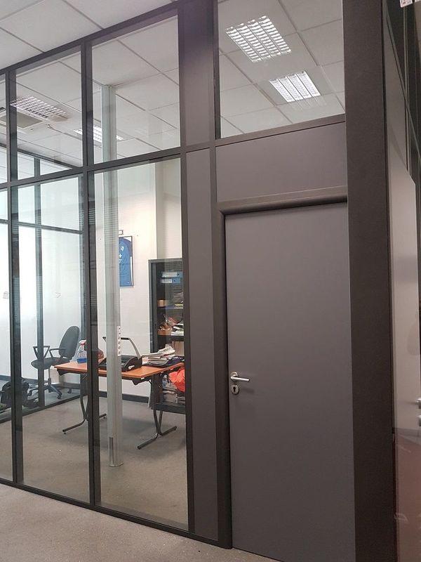 Cloisons vitrées de bureaux